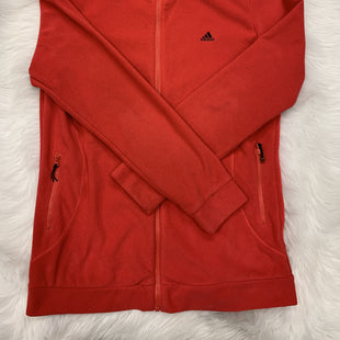 Adidas Fleeze Jacket Large - RED LARGE .