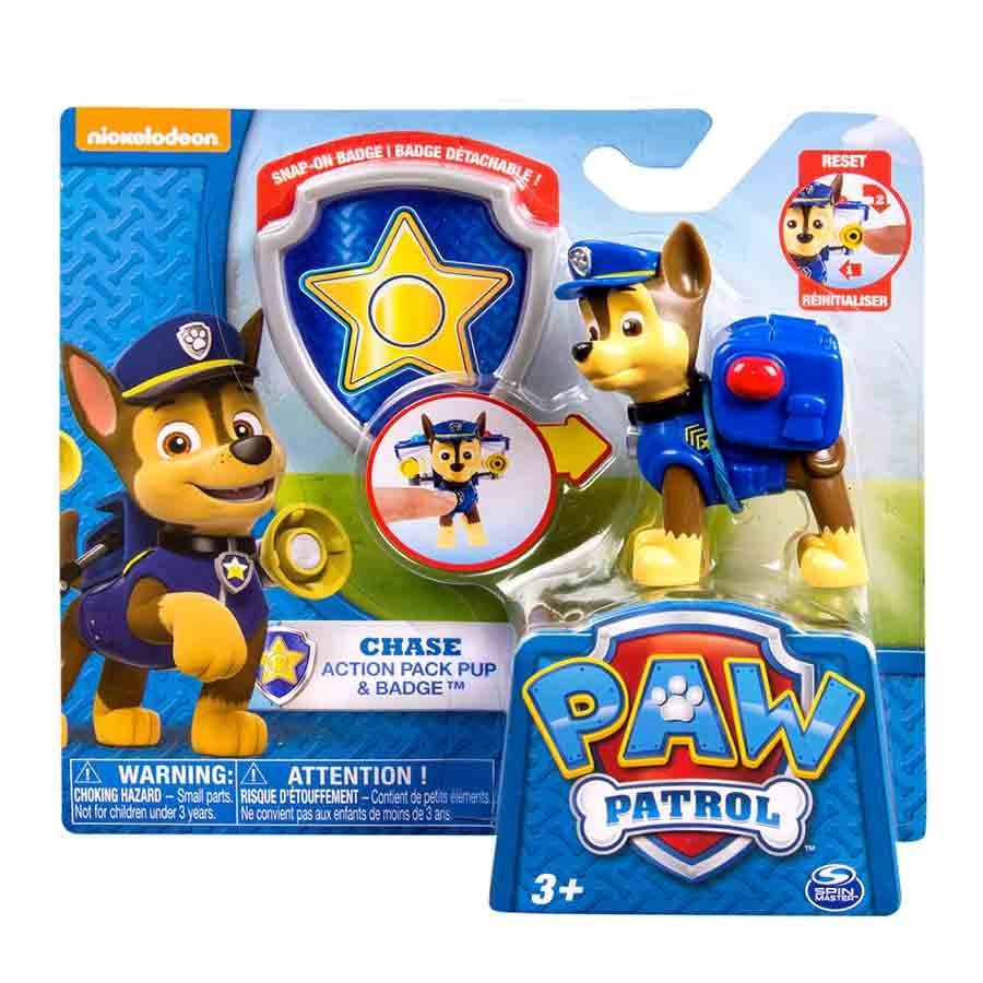 PAW PATROL- Cachorro transformable CHASE!
