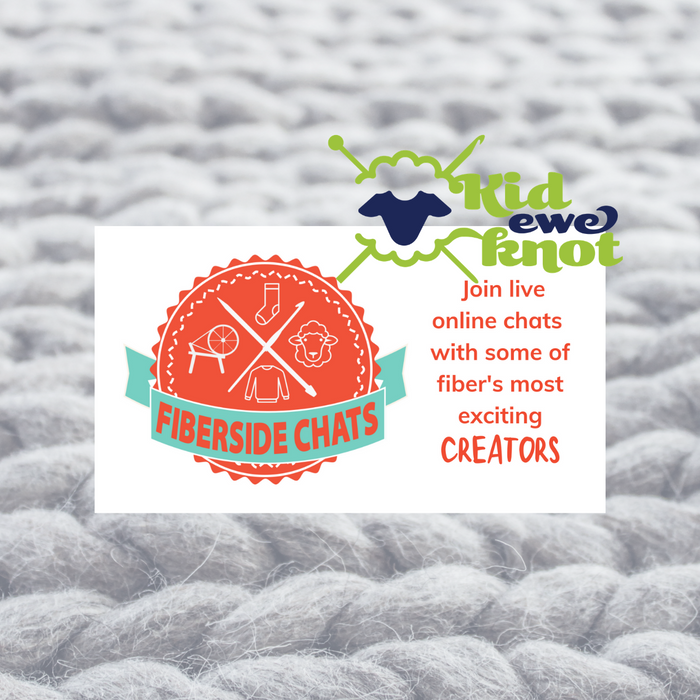 Mr Knitbear and Dendennis inspire Fiberside Chat