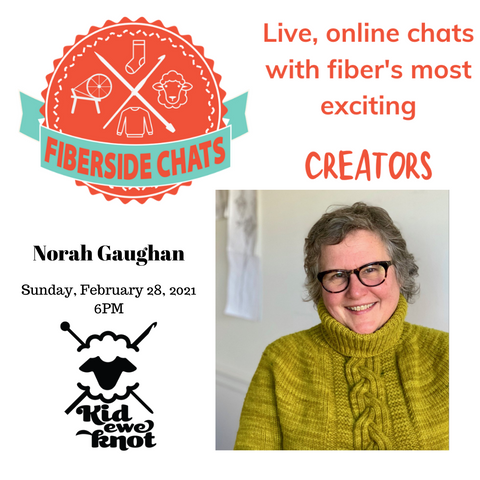 fiberside chat with Norah Gaughan
