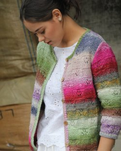 Noro Boxy Cardigan, Build Your Own!