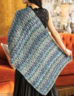 Noro Cabled Wrap, Build Your Own!