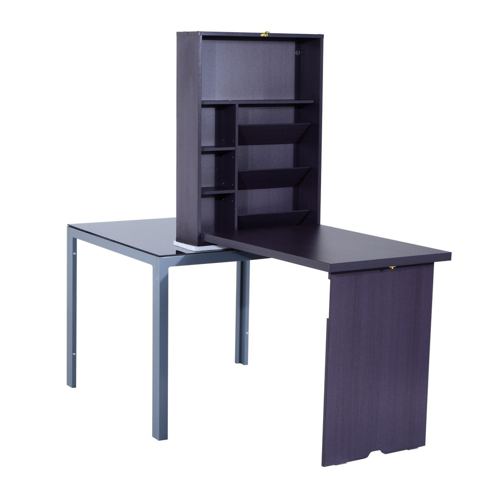 Fold Out Convertible Wall Mount Desk