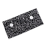 Button Headband Facemask Holder for Nurses Doctors Washable Reusable for Protection Cotton Fabric Headband