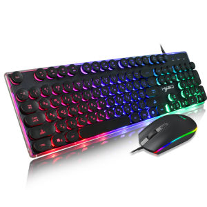 Multi-Color Keyboard and Mouse set