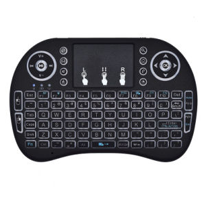 Mini i8 2.4G Air Mouse Wireless Keyboard with Touchpad USB Charging Type