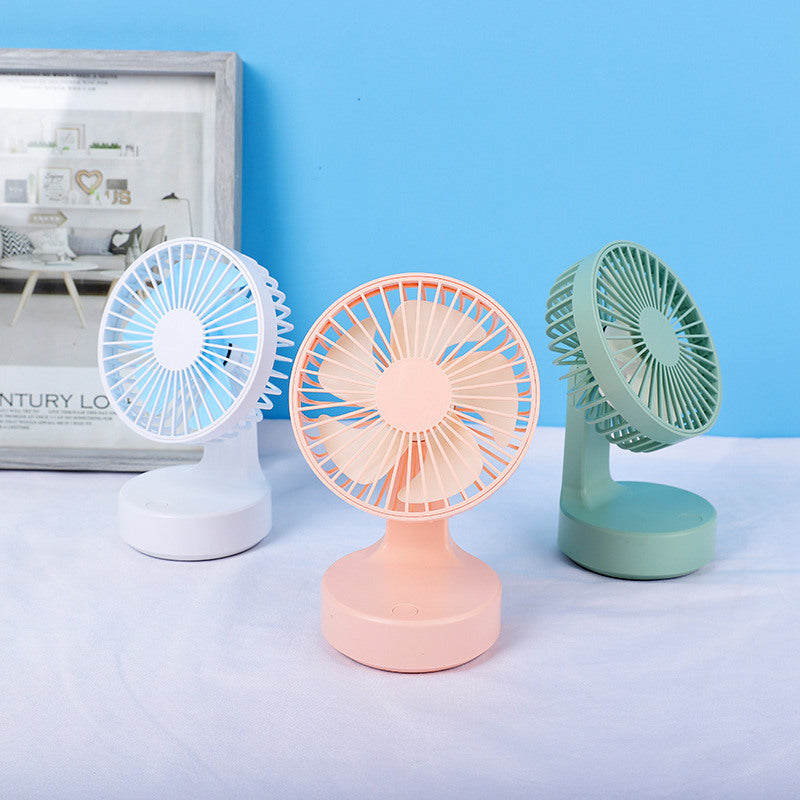 Handheld Electric Mini Portable New Desktop Fan 3 Speeds USB Fan With Rechargeable Usb Desktop for Home and Travel
