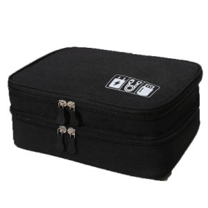 Waterproof Multi-Function Digital Package Headphone Storage Box Cable Organizer Bag USB Storage Bag Cable Cord Organizer Bag Cable Organizer Travel Bag