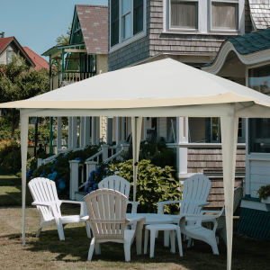 Pop Up Gazebo Tent, Suitable for Patio and Garden, Outdoor Gazebos with 140 Square Feet of Shade, Portable with Carry Bag