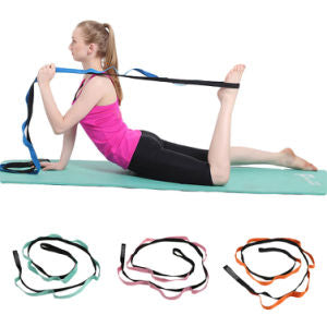 Yoga Stretch Strap Anti-Gravity Gym Fitness Exercise Loop Rope Resistance Belt