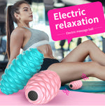 Electric Muscle Fascia Relaxing Fitness Yoga Fatigue Relieve Massage Ball Roller