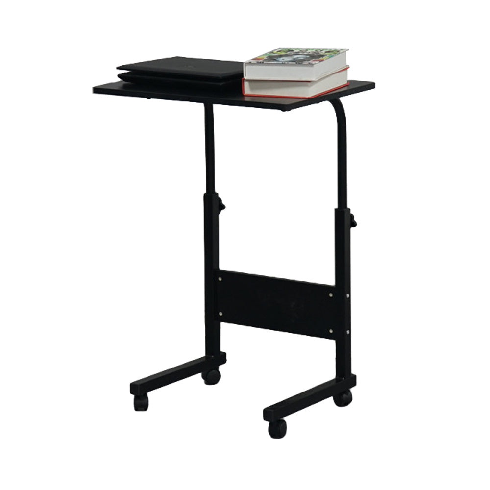 Removable Laptop Desk Bedside Computers Table Adjustable Height Side Table