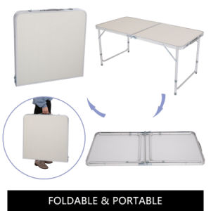 US Stock 120 x 60 x 70 4Ft Portable Folding Table Outdoor Picnic Camping Dining Party Indoor
