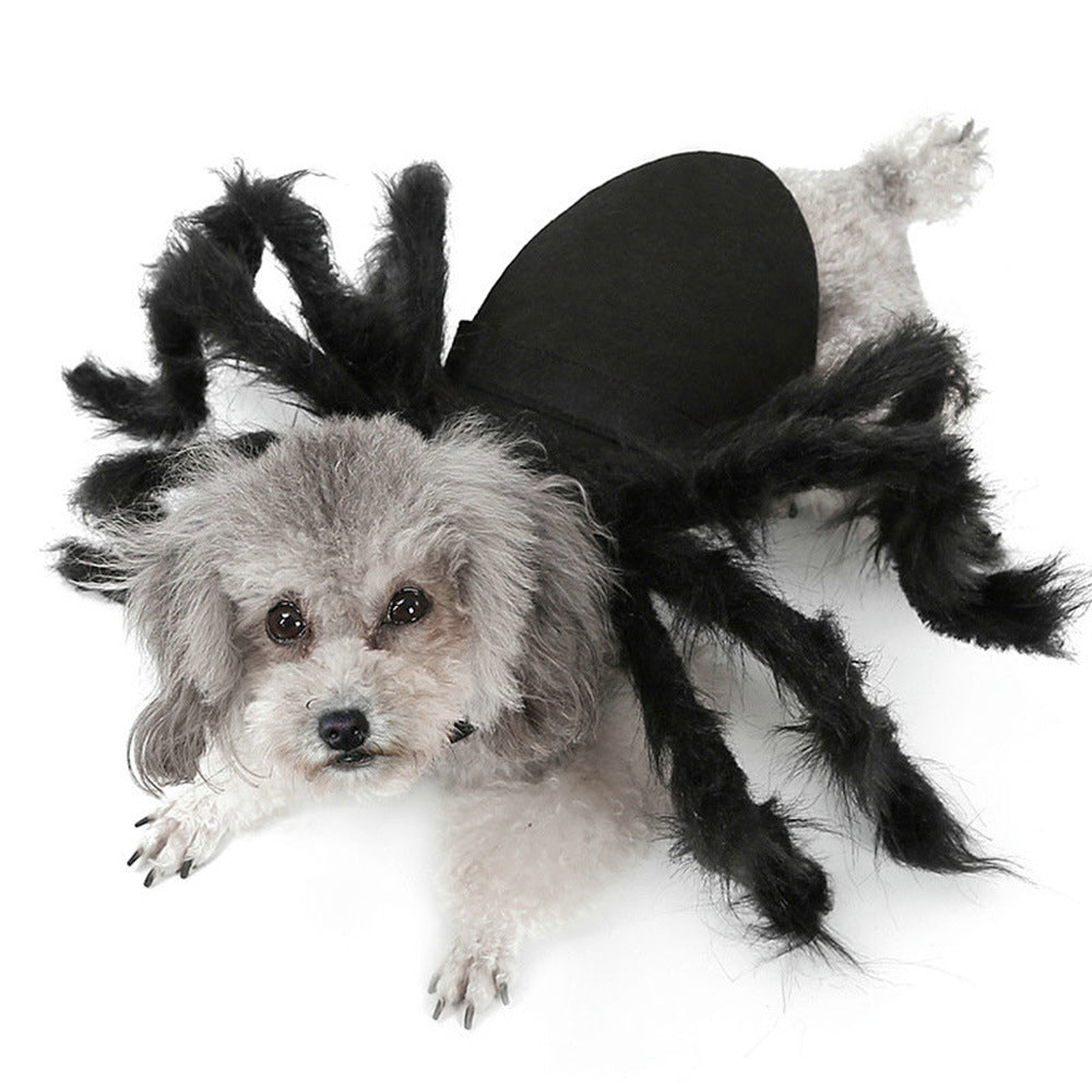 Pet Spider Costume Plush Spider