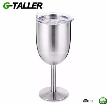 Unbreakable Stainless Steel Goblet Wine