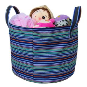 Waterproof Round Hamper Laundry Basket Storage Bin Organization Collapsible Foldable Toys Clothes