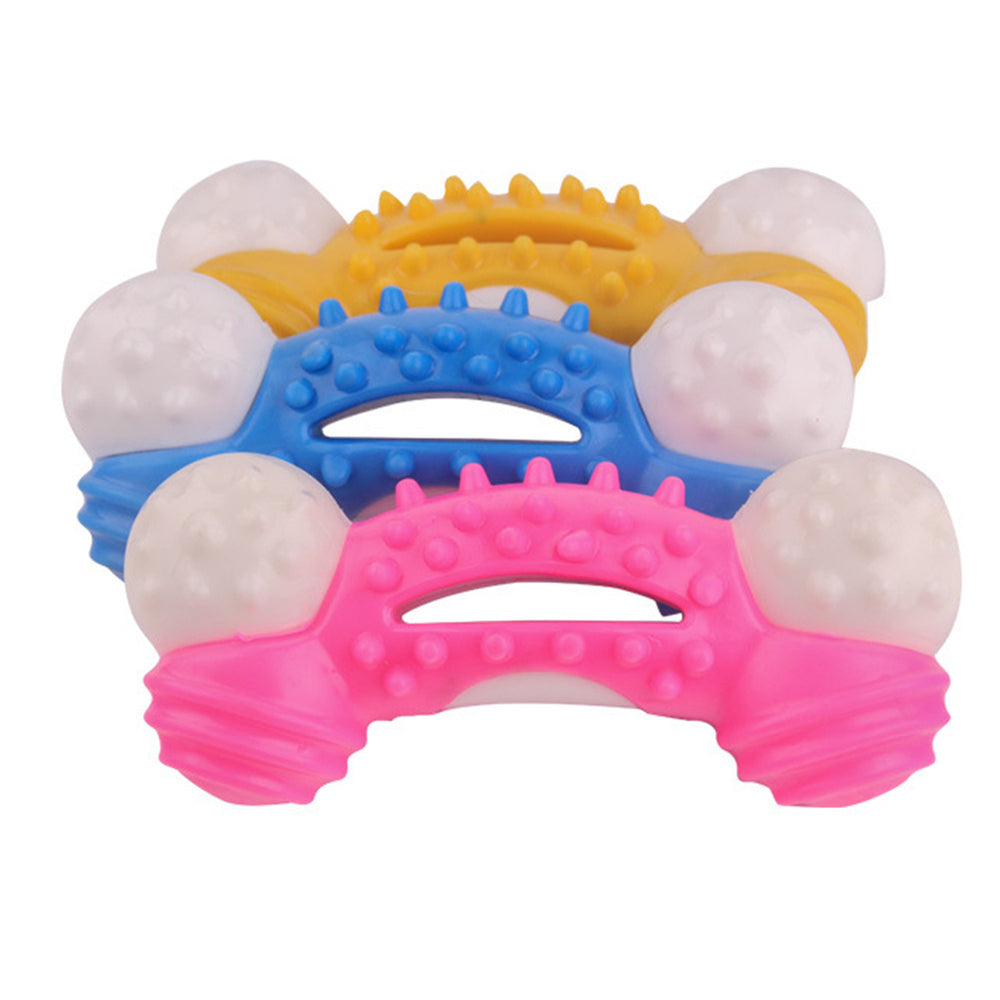 Dog Toys Dog Chew Toy Durable for Aggressive Chewers Teeth Cleaning, Safe Bite Resistant