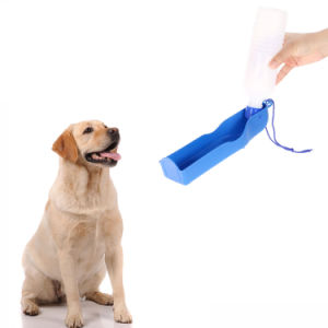 Potable Pet Water Feeding Drink Bottle Dispenser 500ml