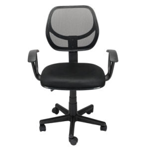 Back Swivel Tilt Office Chair Mesh Black - adjustable height home business
