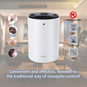 Electric Fly Bug Zapper Mosquito Insect Killer LED Light Trap Pest Control White