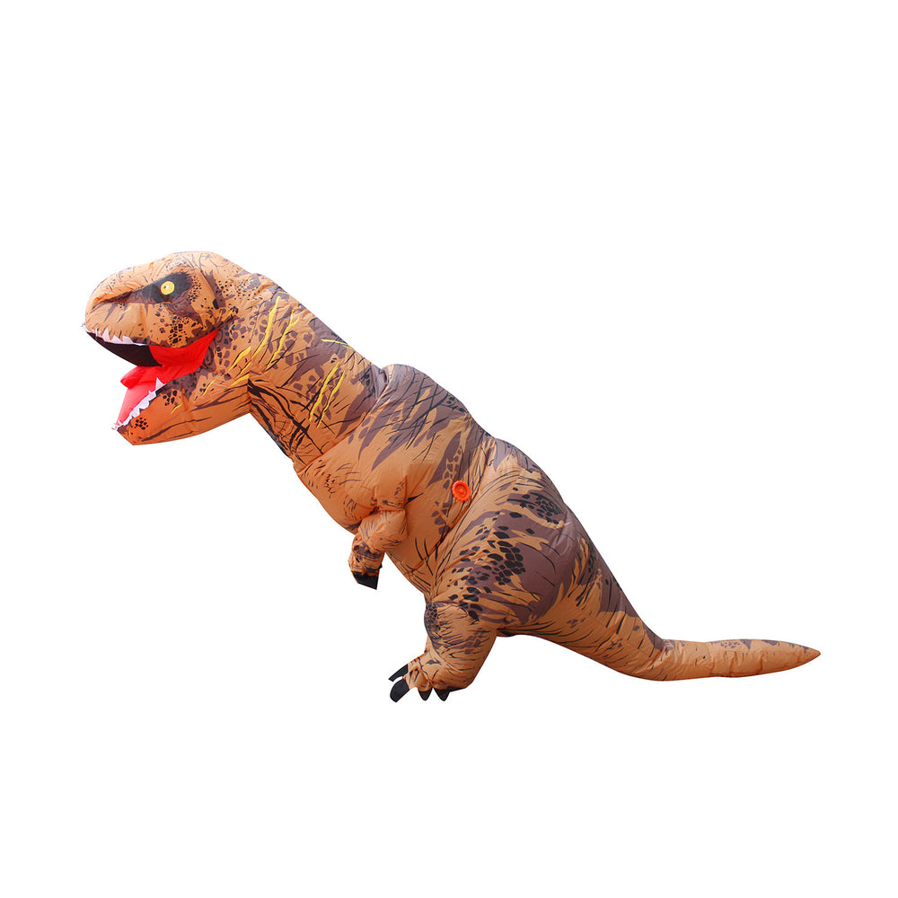Fancy Adult Inflatable Clothing Dinosaur Halloween Costume Fantasy Riding Costume
