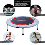 "40"" Folding Trampoline Kids Fun Jumping Exercise Workout Aerobic Bouncer"