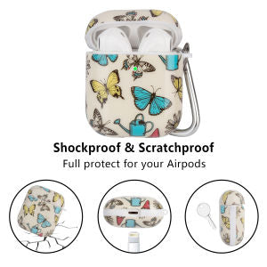 Shockproof Airpods Case with 5 in 1 Accessory Sets