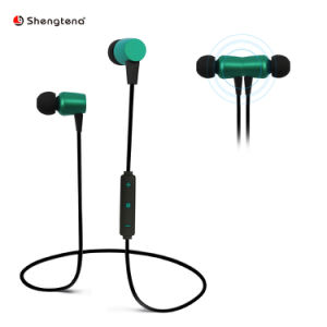 Bluetooth headset, best wireless sports headset with microphone, waterproof high-definition stereo anti-sweat in-ear earplugs, 8-hour battery noise reduction headset for gym exercise