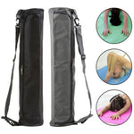 Portable Canvas Yoga Mat Carry Shoulder Bag Pilates Exercise Pad Carrier Pouch