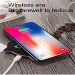 CYBORIS Qi Cute Cat Metal Wireless Charging For Samsung Galaxy S8 S7 Edge Note 8 For iPhone X 8 8 Plus USB Fast Wireless Charger Gift