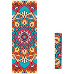 Fashion Printed Suede TPE Anti-slip Gym Fitness Exercise Pilates Yoga Mat Pad