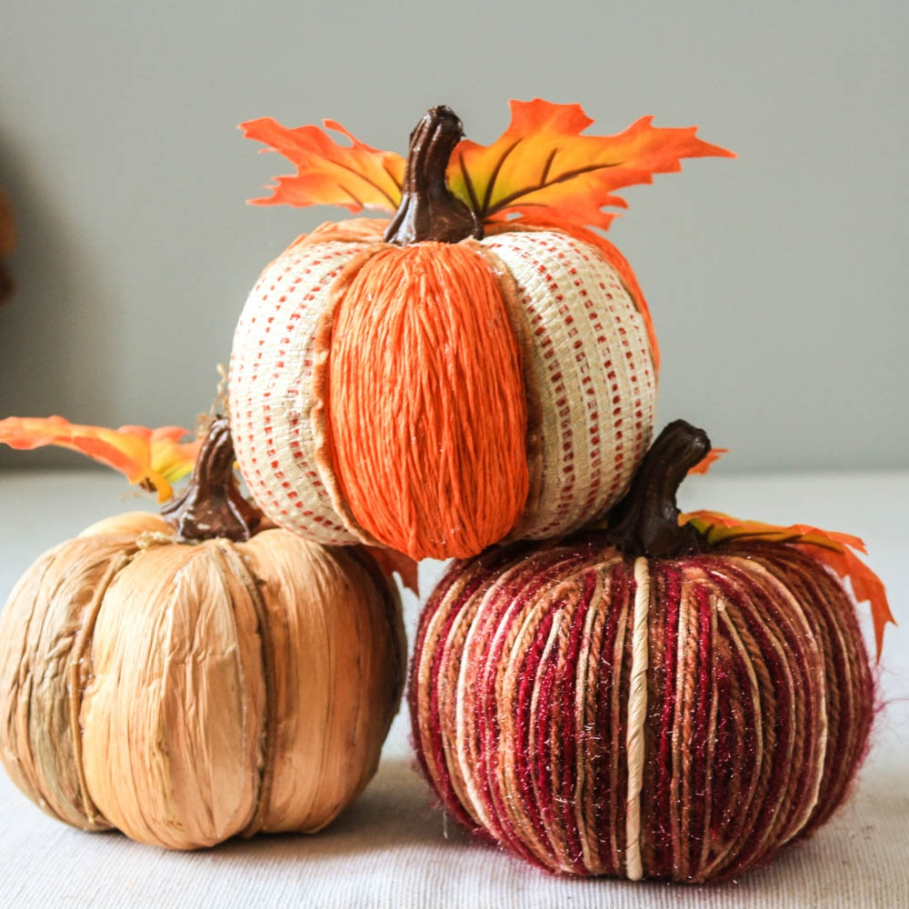 Fall Handmade Pumpkin Home Decor