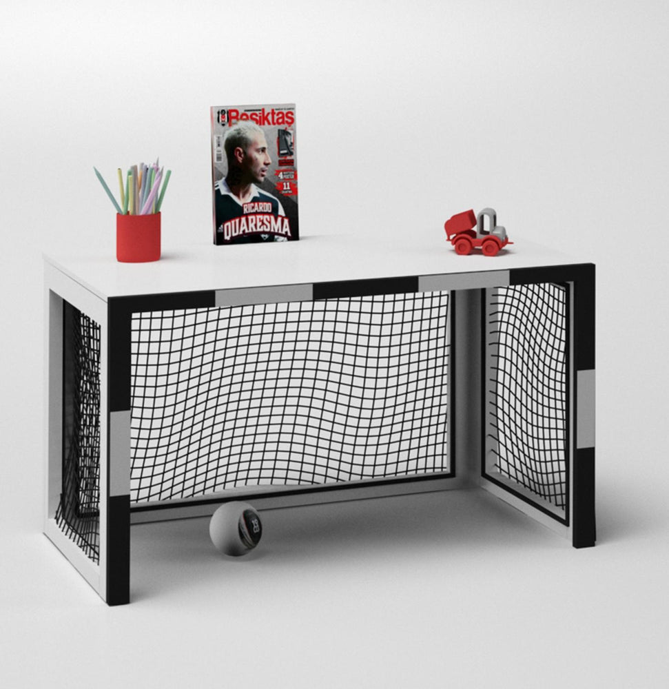 2-in-1 Soccer Goal Kids Desk