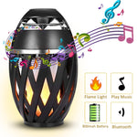 LED Candle Flame Bluetooth Speaker
