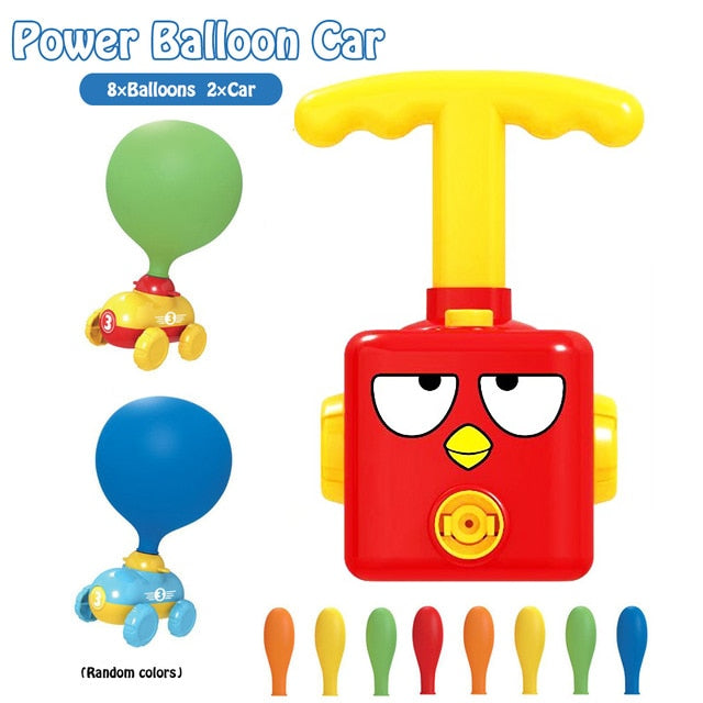 Balloon Launcher & Powered Car Toy