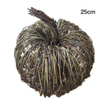 Natural Dried Rattan Pumpkins or Wreath Handmade