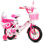 Children bike kids tricycle bike quad balance kid ride bike for 2-13 years old with assist wheel for safe
