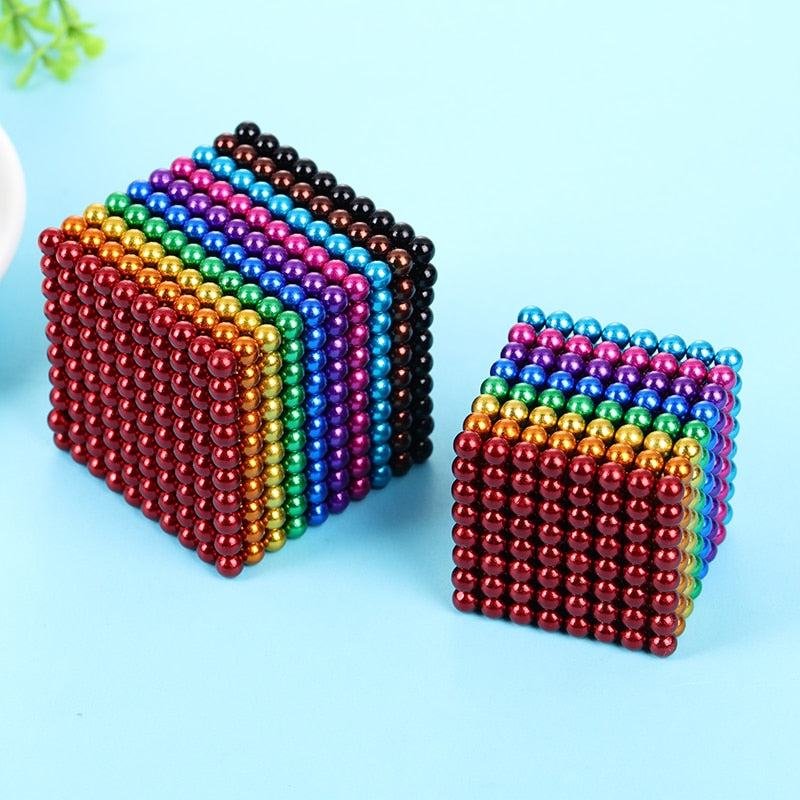 1000 Piece Magnetic Beads Set