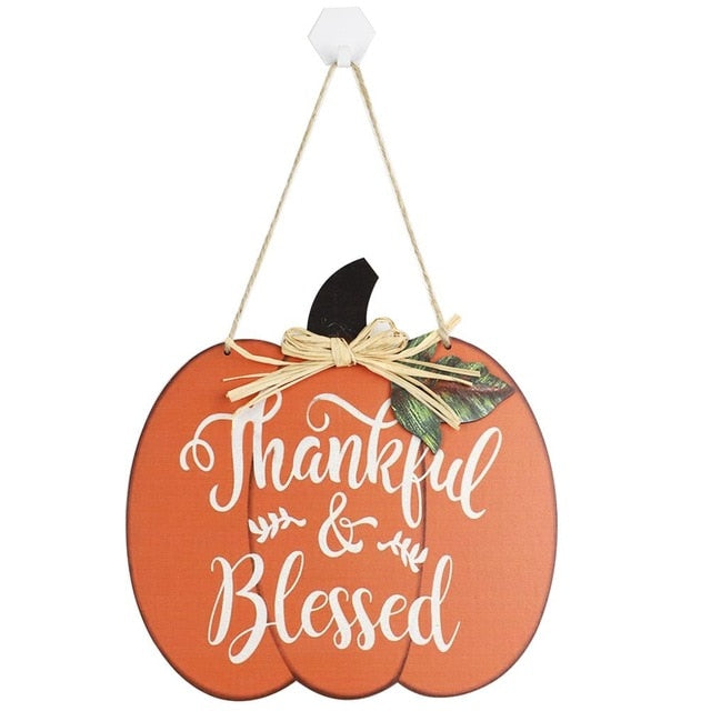 Fall Hanging Home Decor sign