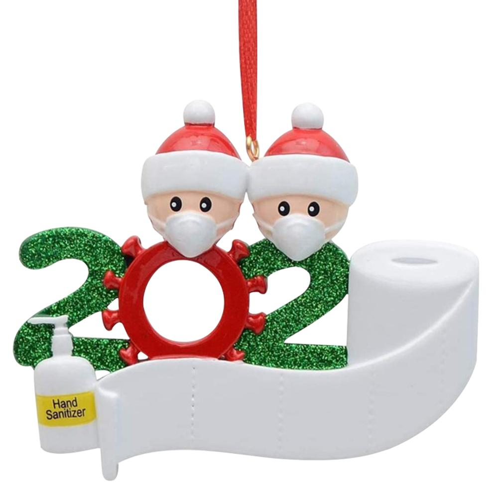 2020 Quarantine Christmas Personalizable Ornament
