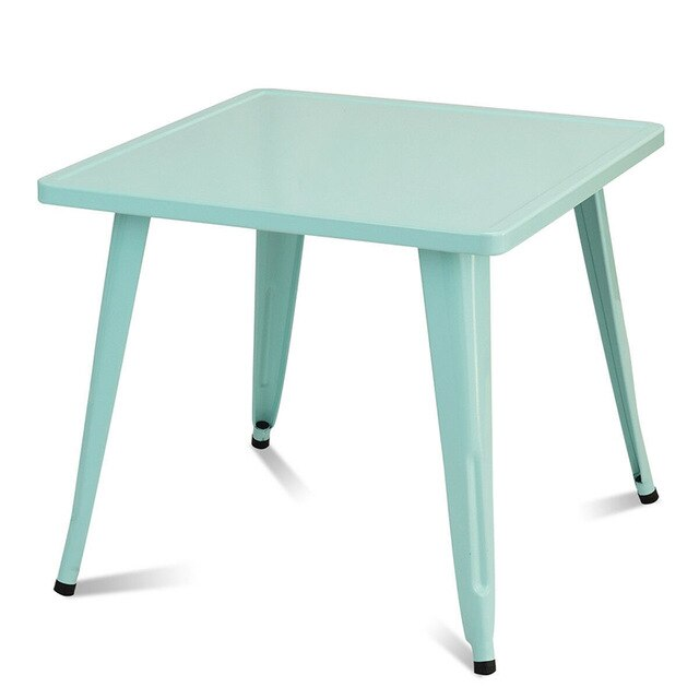 27'' Kids Square Steel Table