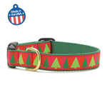 Festive Trees Dog Collar