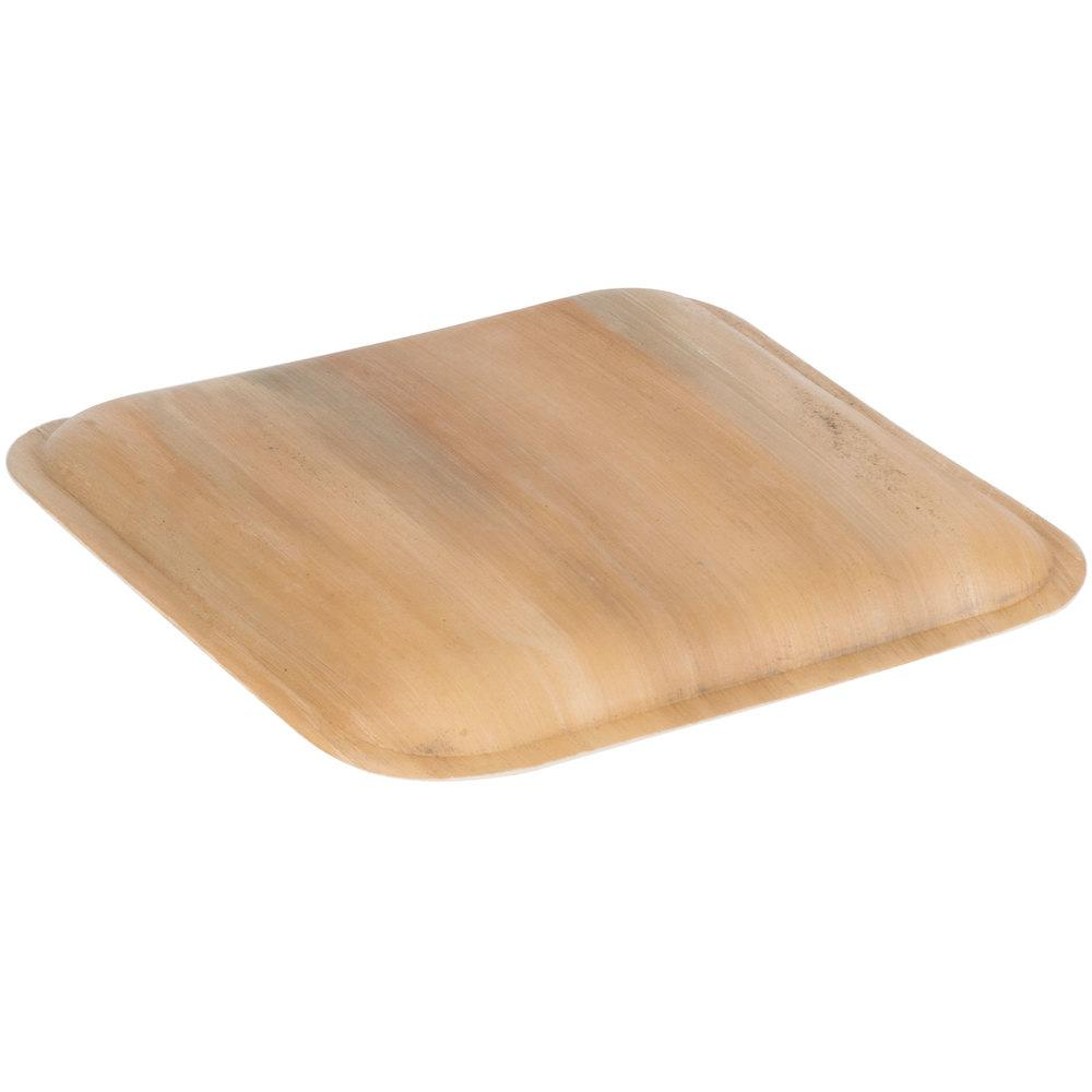 "Palm Leaf Plates Square 10"" Inch (Set of 25/50/100)"