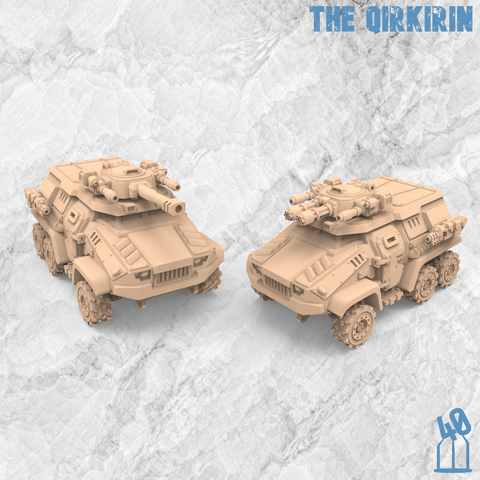 The Qirkirin Armored Assault Transport PreSupported for Resin Printers