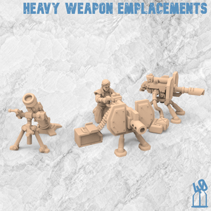 heavy weapon emplacement alternative guard 3d printing female guard guardswomen miniature azadi death front 40emperor