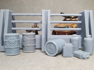 Barriers and Blockades Scenery Pack