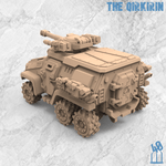 The Qirkirin Azadi Death Front Armored Assault Vehicle 40Emperor 3D printable Miniatures for wargames