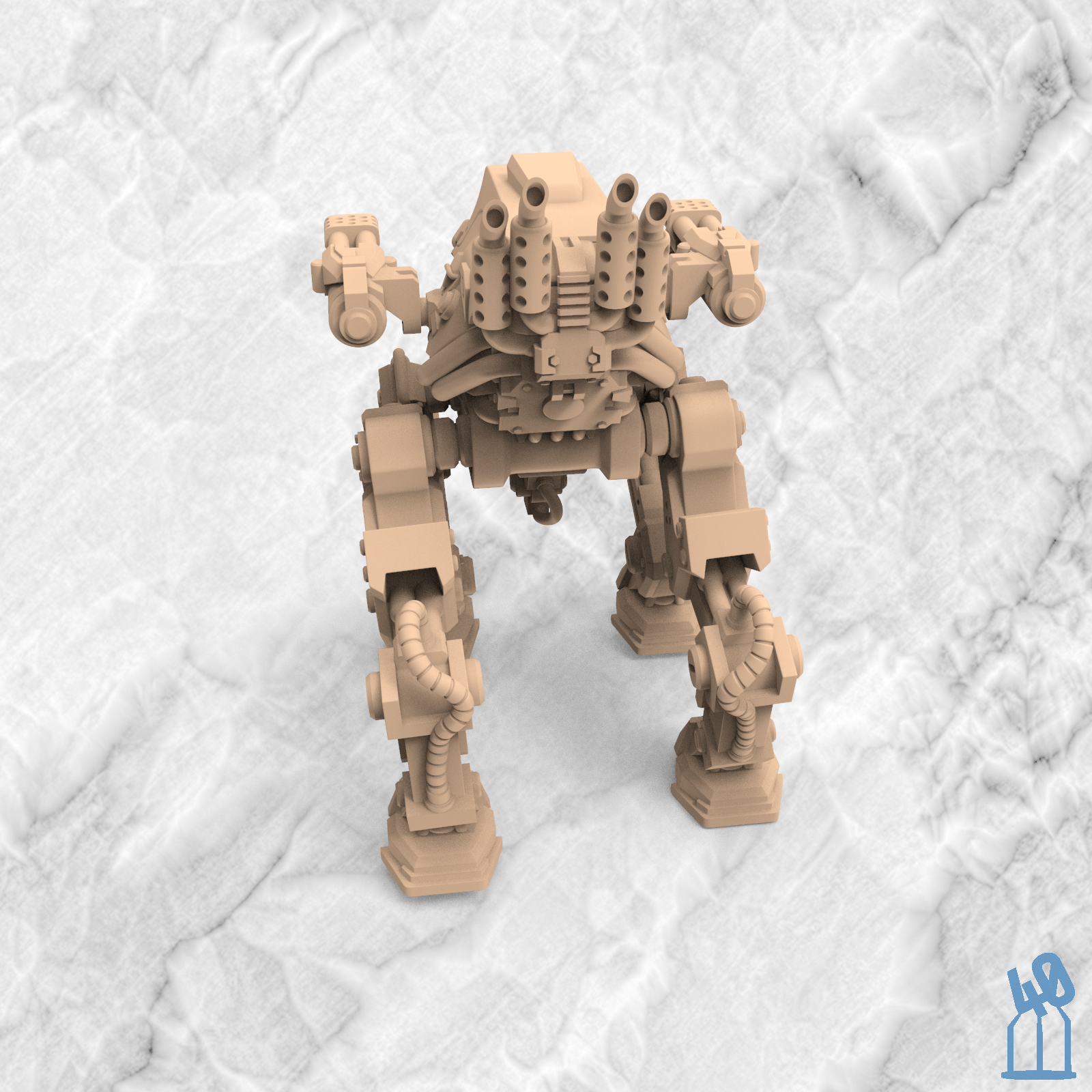 The Armored Sisirk - War Walker
