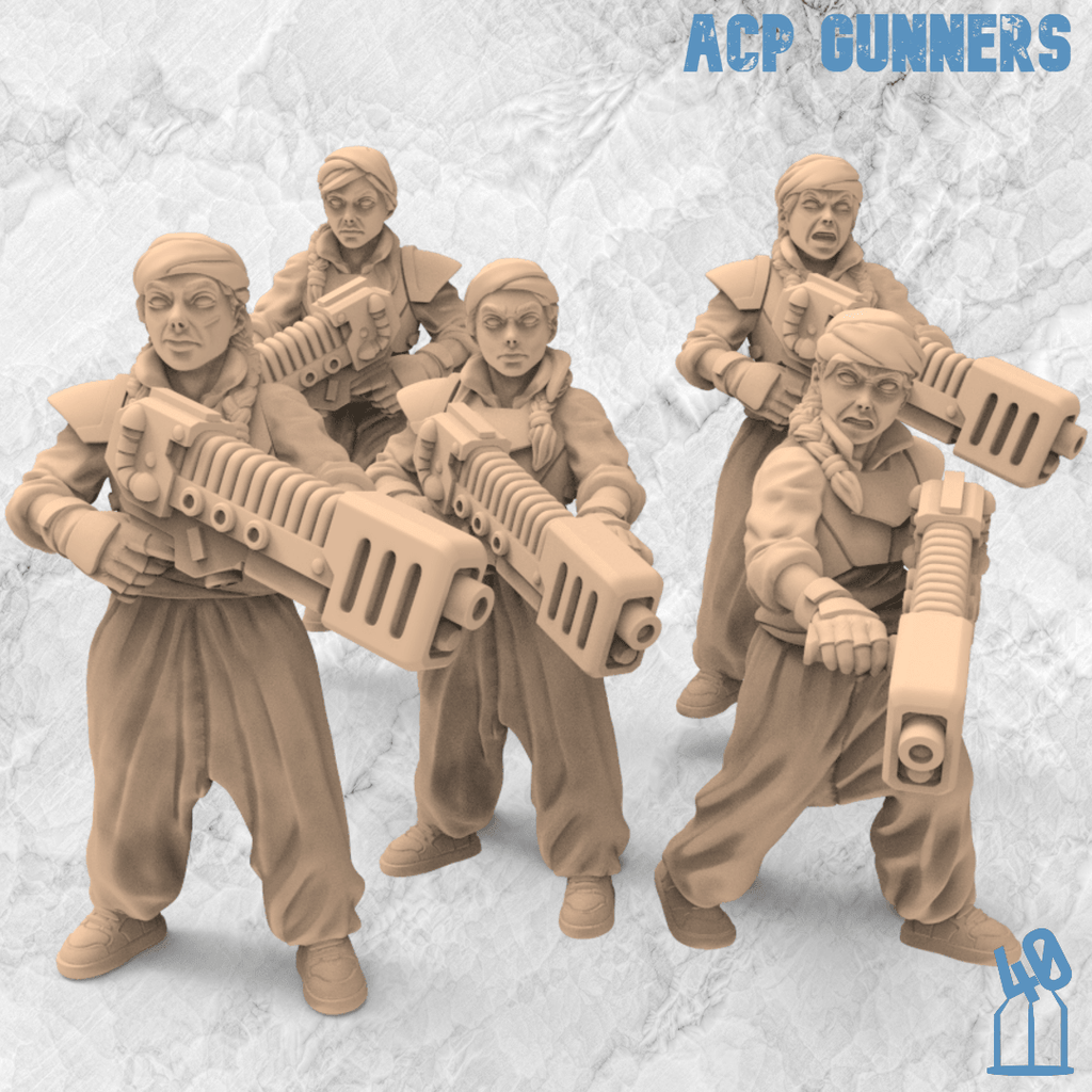 air cooking plasma rifle troops alternative guard 3d printing female guard guardswomen miniature azadi death front 40emperor