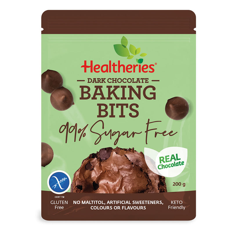 Keto Store NZ | Healtheries Dark Chocolate Baking Bits